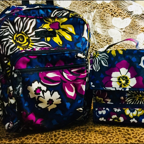 Vera Bradley Backpack   Lunch Bag! M 5b9190532aa96aa2ebf96b06 52d1303a29d01
